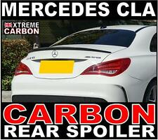Mercedes CLA W117 C117 AMG Style Genuine Carbon Rear Boot Spoiler CLA45 UK Stock
