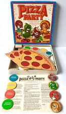 Vintage Pizza Party Board Game 100% COMPLETE 1987 Parker Brothers