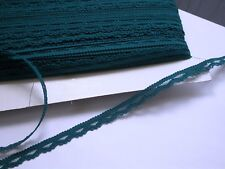 """Closeout Bolt 3/8"""" (10mm) Teal Lace 100 Yards FREE ship USA"""