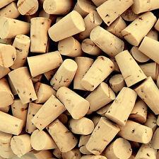 10 Premium Corks Size 00 Natural caps/plugs/tiny/little/small/miniature/bottles