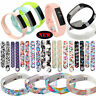 Small / Large Replacement Bangle Bracelet Wristband Band Strap For Fitbit Alta