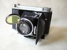 VOIGTLANDER BESSA 46  6X4.5 120 FOLDING CAMERA AND MOMENT YELLOW FILTER. WORKING