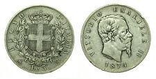 pcc1634_4) Regno Vittorio Emanuele II lire 5 scudo 1874