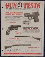 Magazine GUN TESTS, March 2001 ! SMITH & WESSON Model 36LS LadySmith REVOLVER !
