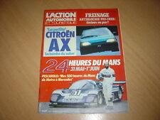 action auto N°301 Escort XR3i.R 21 TL.24 h du Mans