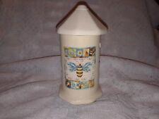 Ceramic Lantern w/Bee