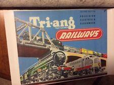 TRIANG RAILWAYS RETAIL SHOP DISPLAY WINDOW STICKER SIGN ENGLAND OO TRI-ANG