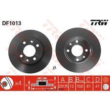 Bremsscheibe, 1 Stück TRW DF1013