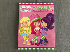 Brand New Girls Strawberry Shortcake Colouring and Activity Soft Cover Book