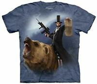 Lincoln The Emancipator The Mountain 100% Cotton Adult T-Shirt NWT