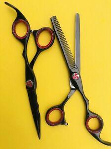 "Professional Hairdressing Scissors Barber Salon Hair Cutting/thinning Shears 6"""