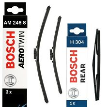 Bosch Front and Rear Wiper Blades Set 650mm+380mm+300mm | AM246S+H304