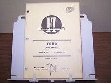 Ford 6000 Commander 6000 Tractor Shop Manual Service Repair