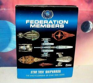 Star Trek Shipyards Federation Members Starships Encyclopedia (2019, HC, Used)