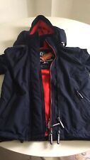 "Superdry Windcheater Jacket Navy Red Men's Boy's Size S 36"" Brand New"