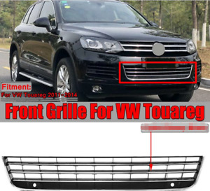 for VW Touareg 7P 2011-2014 Front Bumper Lower Mesh Grill Trim Grille
