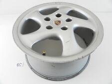 2001 PORSCHE BOXSTER REAR WHEEL RIM 9X18 5 SPOKE ALLOY 99336213801 OEM 979 #02
