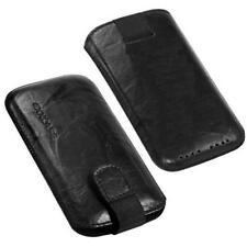 Für Sony Ericsson Xperia arc S Handy ECHT LEDER Tasche/ Case/ Etui/Hülle Schwarz