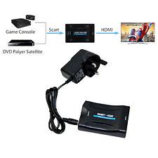 1080P Péritel SCART à HDMI Convertisseur Vidéo Audio Adaptateur Pour Sky Box STB TV HD DVD.