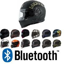TORC T14 BLUETOOTH  MOTORCYCLE HELMET FULL FACE DUAL VISOR  DOT