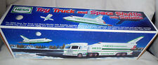Hess 1999 Toy Truck and Space Shuttle with Satellite NEW