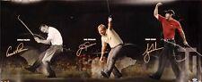 """Golfing Motivational Tiger Woods Jack Nicklaus & Arnold Palmer Poster 32x13"""" 009"""