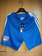 ADIDAS Authentic Climicool DALLAS FC Soccer Shorts NWOTS Mens Size S NEW