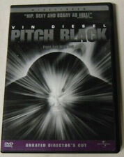 Pitch Black Dvd Vin Diesel Unrated Director's Cut