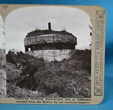 WW1 Stereoview German Revolving Machine Gun Nest Bullecourt Realistic Travels