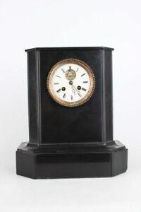 Antike Französische Kaminuhr Tischuhr Pendule mit Brocot-Hemmung um 1880