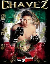 Julio Cesar Chavez JCC 4LUVofBOXING 24X36 BK Poster New Boxing