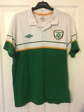2014/2015 Republic of Ireland polo football shirt Umbro XL men's rare