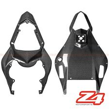 2006 2007 R6 Rear Upper Driver Seat & Lower Tail Light Cowl Fairing Carbon Fiber