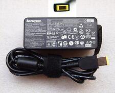 New Genuine Original Lenovo Adapter/Charger 45W 20V 2.25A Square for X1 Carbon