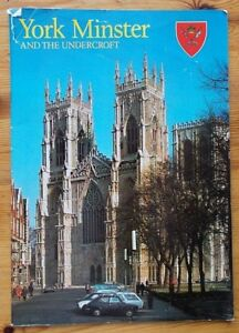 York Minster and the Undercroft paperback guide-book ~1984 32 pages