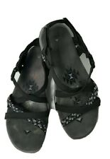 New ListingSkechers Womens Reggae Slim Vacay Sport Comfort Sandals Black Size 8