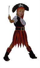 Bermoni Girl's Pirate Dressing Up Costume (7 to 10 y o) (PIR-05)