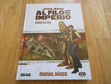 STAR WARS AL FILO DEL IMPERIO - Básico - juego de rol - EDGE - FF