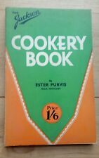 The Jackson Cookery Book - The Electric Cooker & How to Use it - 1938