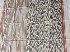 "Vtg Jim Thompson Thai Silk Scarf 34"" Square Abstract Flame Unused Orig Package"