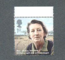 Mary Leakey-Archeaology-Anthropology-Science Great Britain mnh single