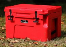 New COLD BASTARD ICE CHEST BOX COOLER BEST PRICE YETI QUALITY Free s&h RED 25L