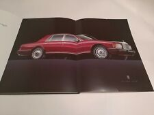 Rolls Royce Silver Spur Silver Spirit Prestige Brochure 1995