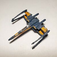 HABSRO Star Wars Micro Machines POE DAMERON'S X-WING wings CLOSED Force Awakens