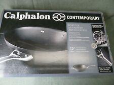 Calphalon CONTEMPORY 12 INCH FLAT BOTTOM WOK NONSTICK Cookware 1996602