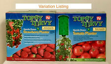 Topsy Turvy Upside Down Hanging Tomato or Strawberry Planter Gardening Organic
