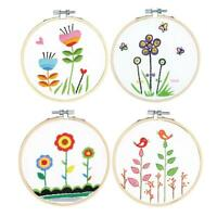 Embroidery Cross Stitch Kit Set for Beginners-Handmade Embroidery DIY Craft