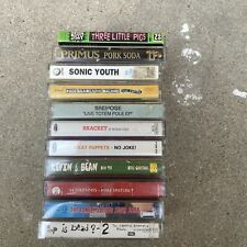 Lot of 11 90s alternative cassettes Rage Against The Machine, Sonic Youth