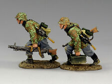 King & Country WS123 Machine Gun Team   - Collectors Showcase Figarti 1st Legion