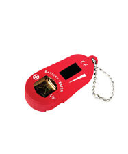 NEW Digital Hearing Aid Battery Tester - Red from Hearing Savers